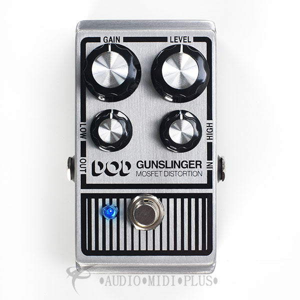 Digitech Gunslinger Mosfet Distortion Pedal - DOD-GUNSLINGER-U - 691991001369