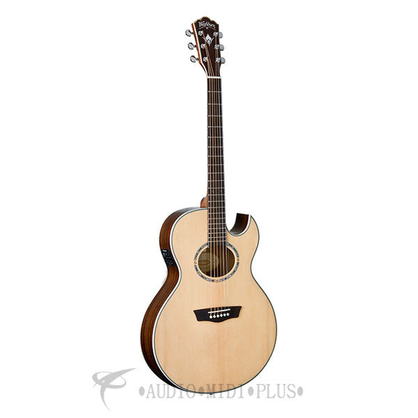 Washburn EA20SNB Nuno Signature Series Acoustic/Electric Guitar - Natural - EA20SNB-U - 801128023274