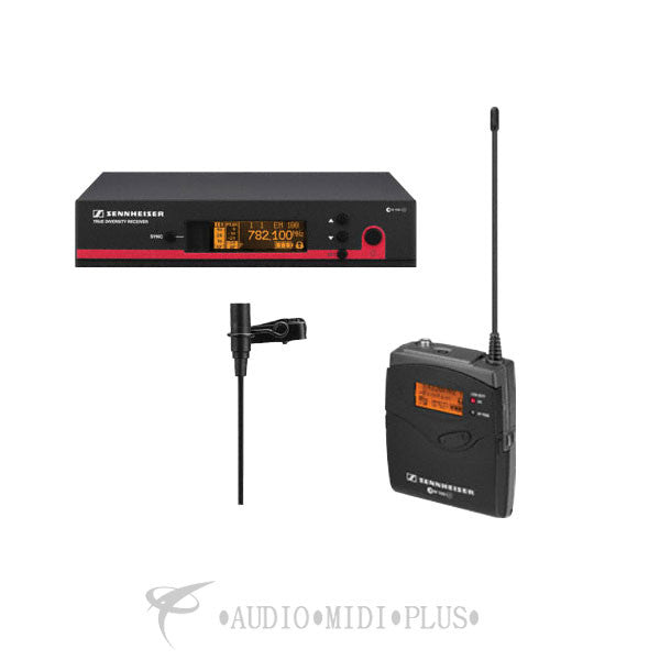 Sennheiser Wireless System With ME 2 Lavalier Mic - EW112-G3-A-U - 00615104151376