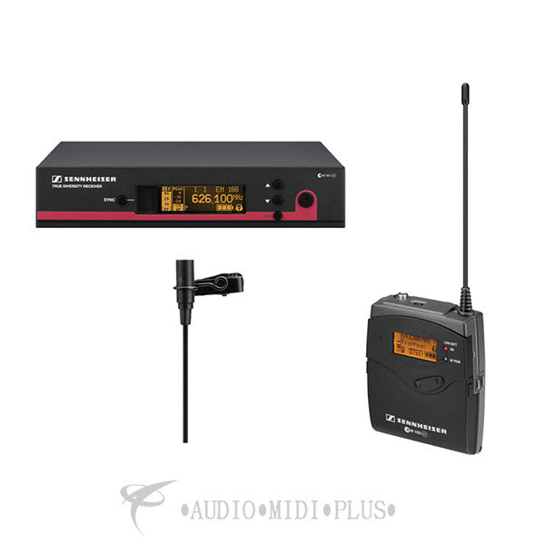 Sennheiser Wireless System With ME 2 Lavalier Mic - EW112-G3-G-U - 00615104151468