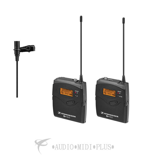 Sennheiser Camera-Mount Wireless Microphone System with ME 2 Lavalier Mic - EW112PG3-A-U