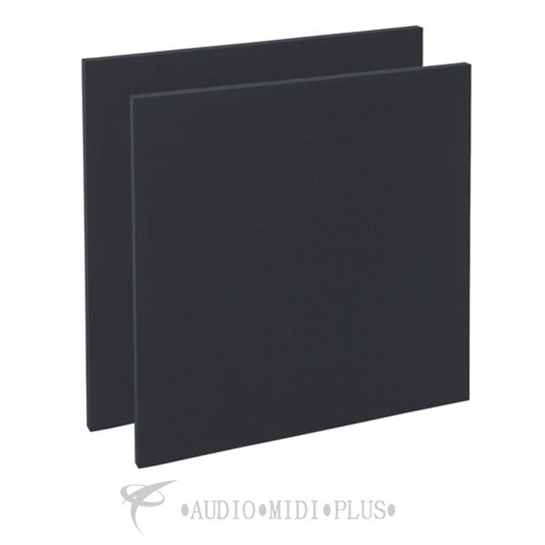 "GeerFab Acoustics Roomzorbers Prozorber Black 24x24 1"" Thick Pair Acoustical Treatment Panel - PZ24BLACK1"