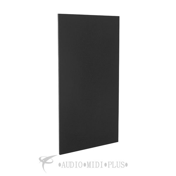 GeerFab Acoustics Roomzorbers Prozorber Black 24x48 1 Thick Single Acoustical Treatment Panel - PZ48BLACK1