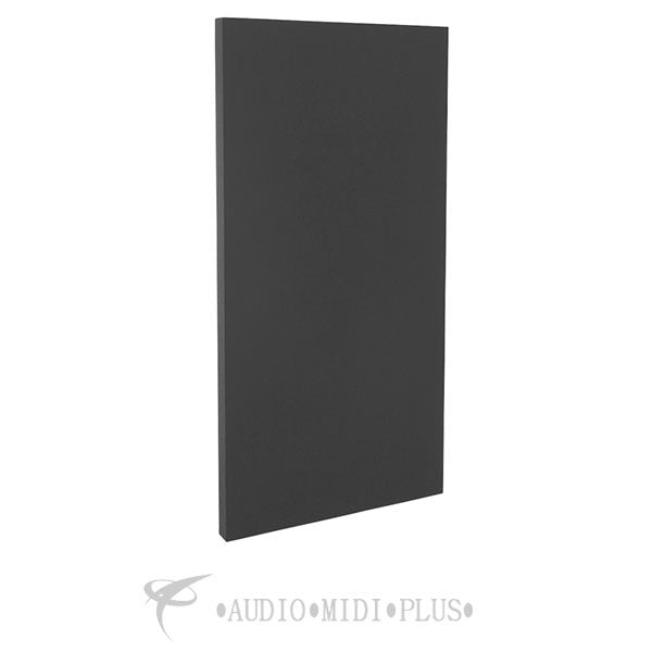 GeerFab Acoustics Roomzorbers Prozorber Black 24x48 2 Thick Single Acoustical Treatment Panel - PZ48BLACK2