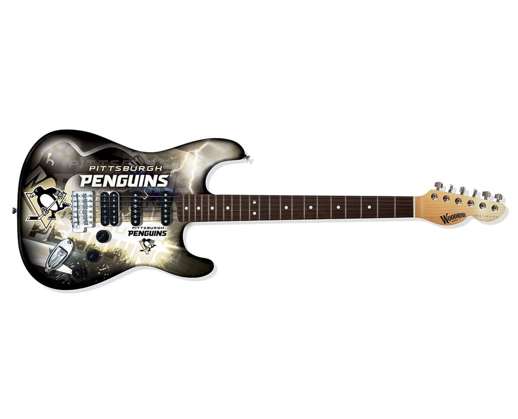 Woodrow Pittsburgh Penguins Northender Electric Guitar