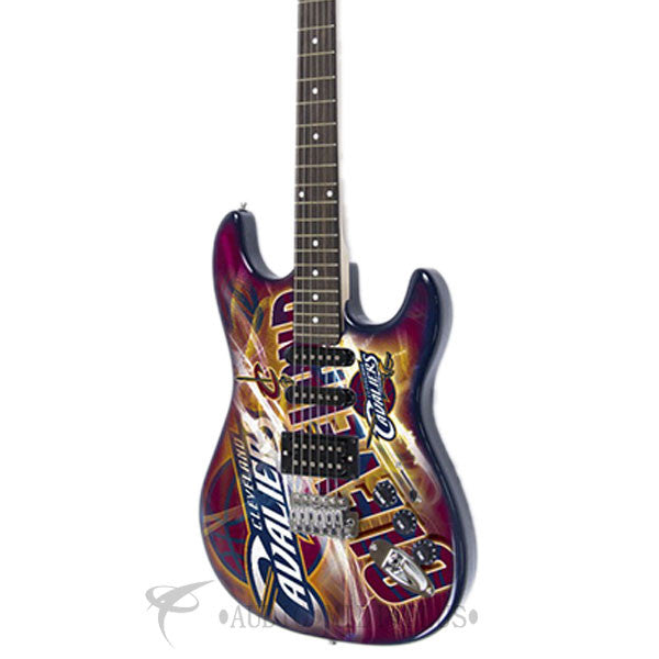 Woodrow Cleveland Cavaliers Northender Electric Guitar