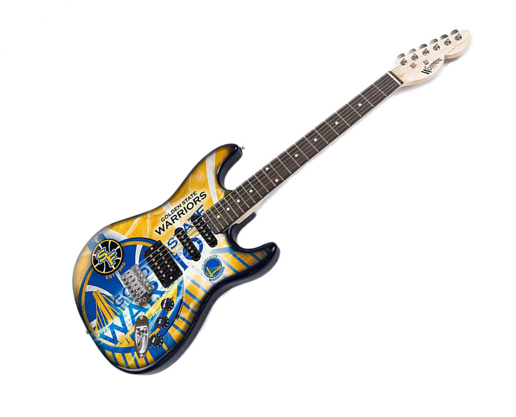 Woodrow Golden State Warriors Northender Electric Guitar