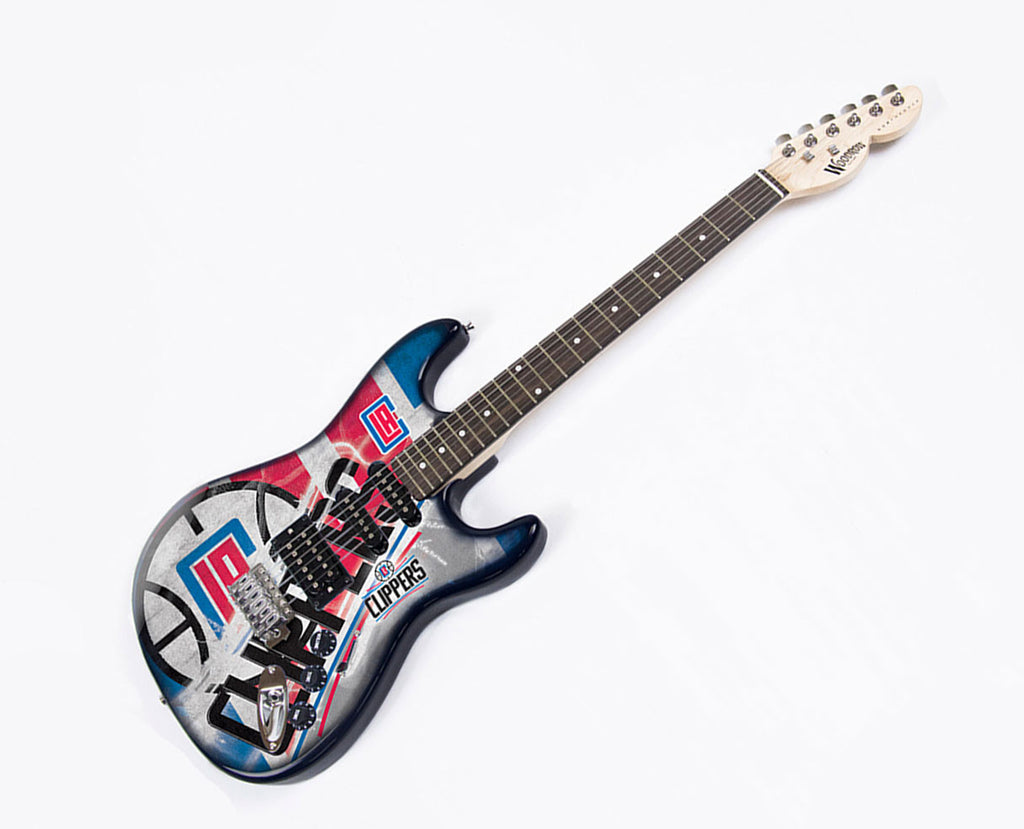 Woodrow Los Angeles Clippers Northender Electric Guitar