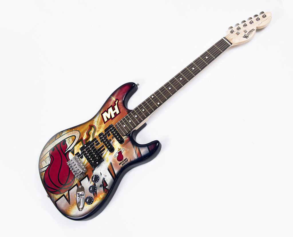 Woodrow Miami Heat Northender Electric Guitar