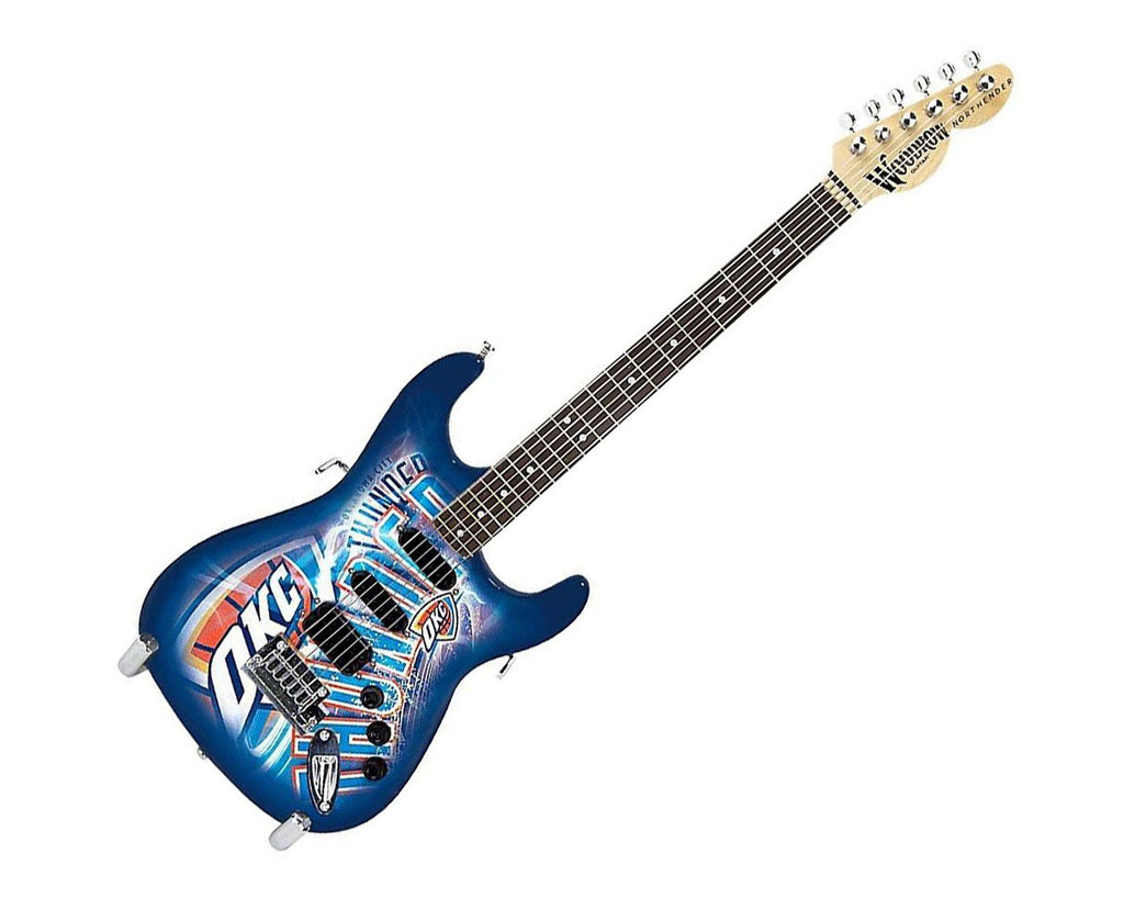 Woodrow Oklahoma City Thunder Northender Electric Guitar