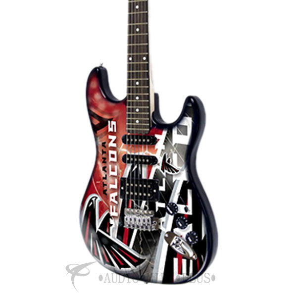 Woodrow Atlanta Falcons Northender Electric Guitar