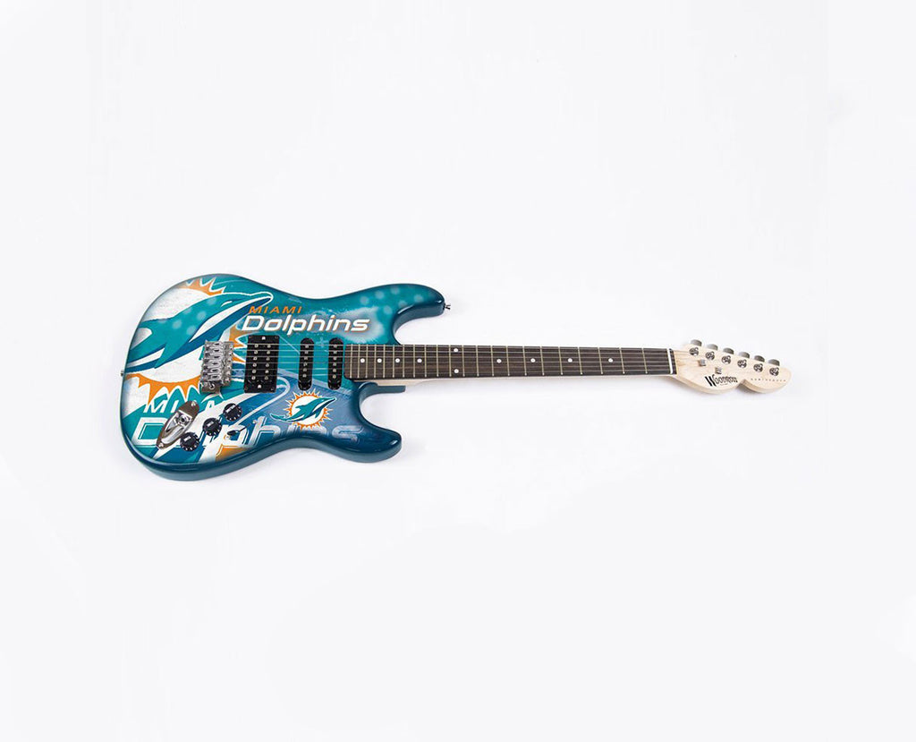 Woodrow Miami Dolphins Northender Electric Guitar