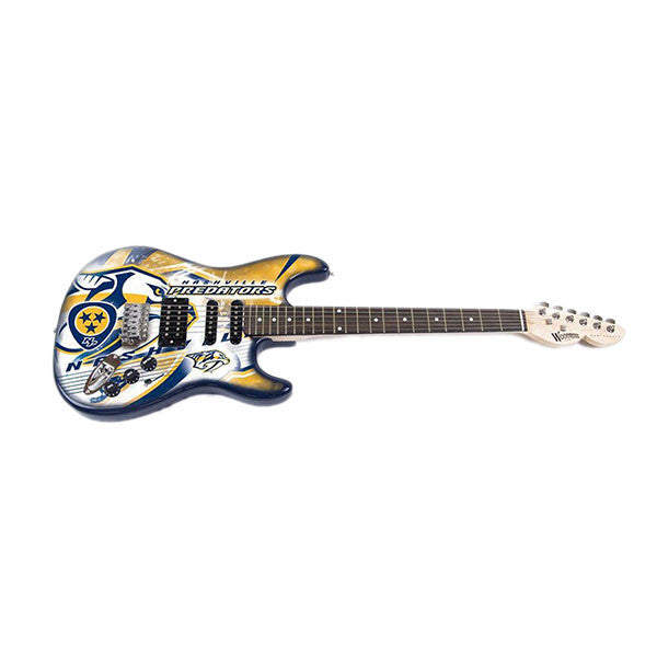 Woodrow Nashville Predators Northender Electric Guitar