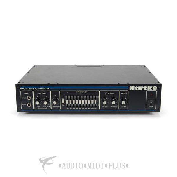 Hartke HA5500 500-Watt Bass Head Rackmount - HA5500C - 809164009429