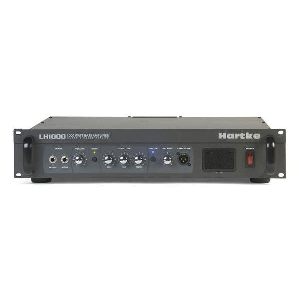 Hartke LH1000 - 2x500 watt Bass Head Bass Amplifier - LH1000 - 809164008477