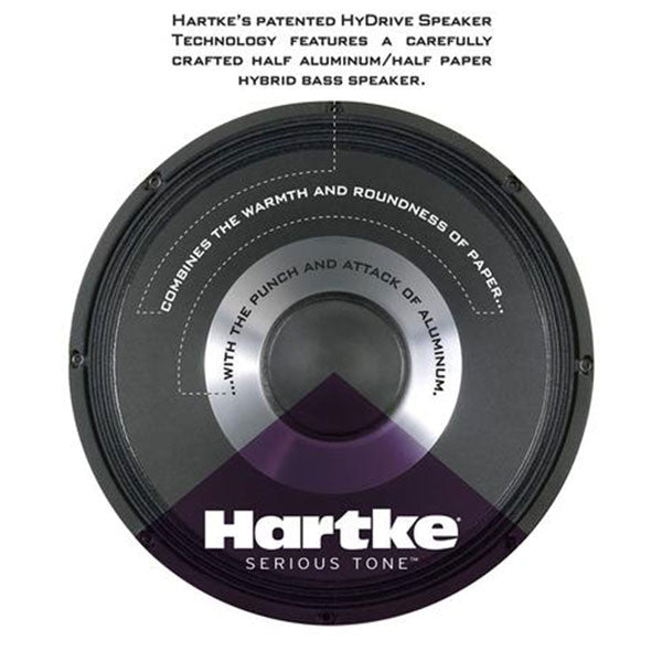 Hartke HD75 - 75 watt 12″ Bass Combo - HMHD75 - 809164016298