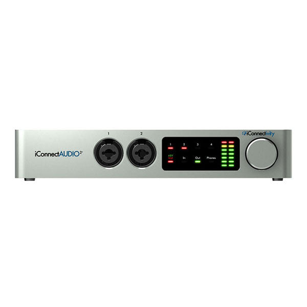 IConnectivity AUDIO2+ Hybrid Multi Host Audio and Midi Interface - ICAUDIO-02 - 888680626242