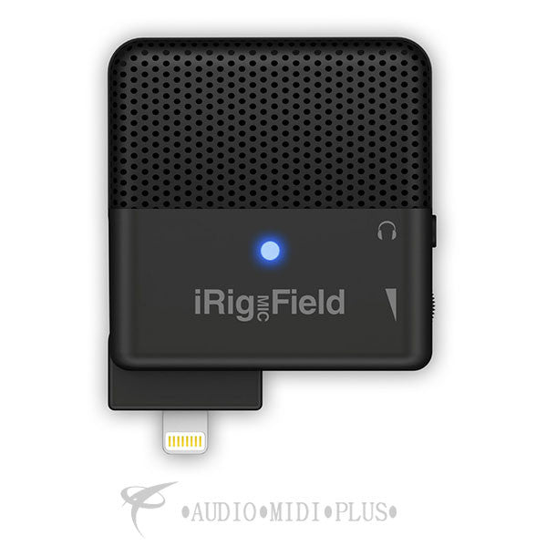 IK Multimedia iRig Mic Field Elegant Design Lightweight - IPIRIGFIELD - 888680059491