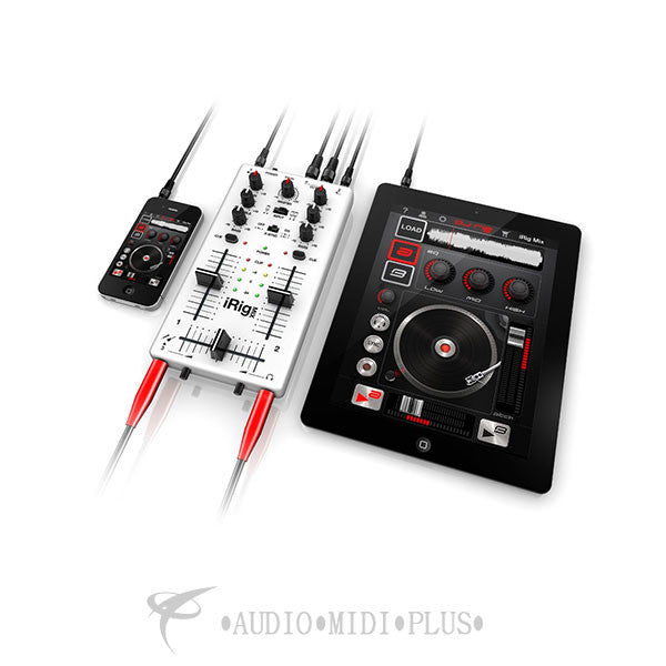 IK Multimedia iRig Mix DJ Mixer High Quality Pristine Sound - BOXIRIGMIXIN - 884088652432