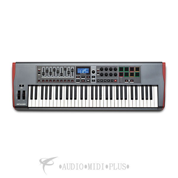Novation Impulse 61 Keys USB Midi Controller Keyboard - IMPULSE-61-U