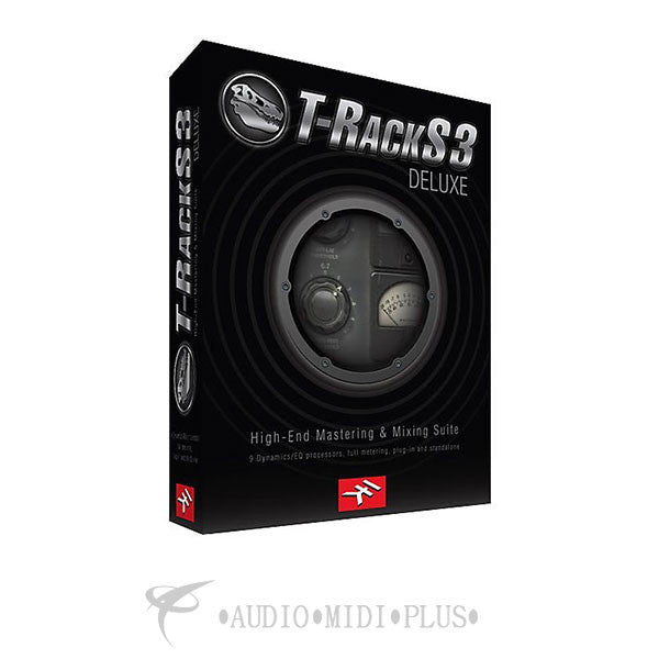 IK Multimedia T-RackS 3 Deluxe Recording Software - BOX-TR3-0003 - 884088413019