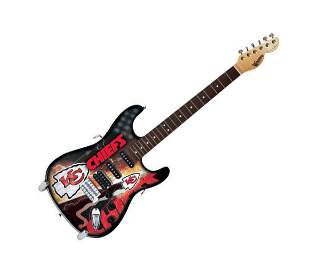 Woodrow Kansas City Chiefs Northender Electric Guitar