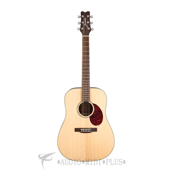 Jasmine Dreadnought Acoustic Guitar Solid Natural - JD37-NAT-U
