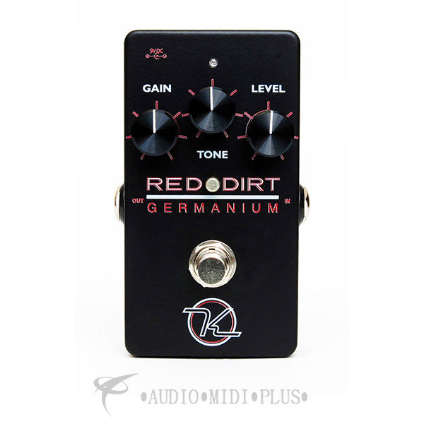 Keeley Red Dirt Germanium Overdrive Effect Pedal - KREDGERM-U