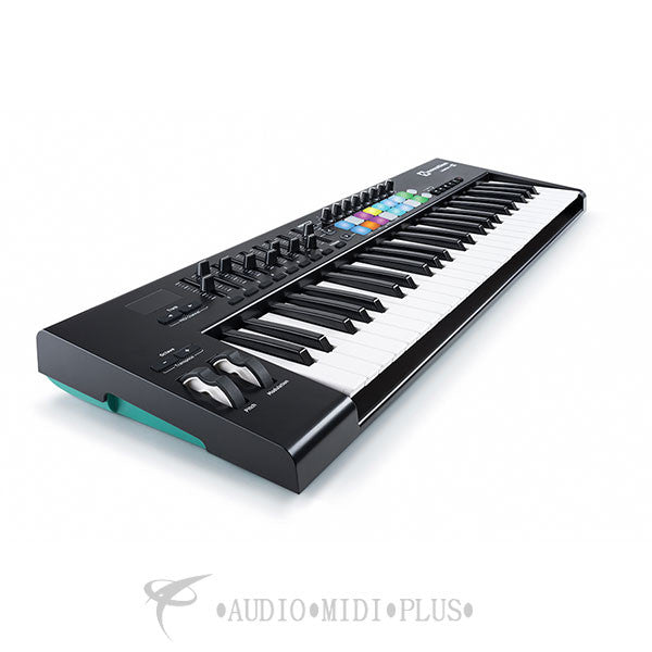 Novation Launchkey 49 Keys MIDI keyboard controller - LAUNCHKEY-49-MK2-U - reverbsync-upc:815301000471