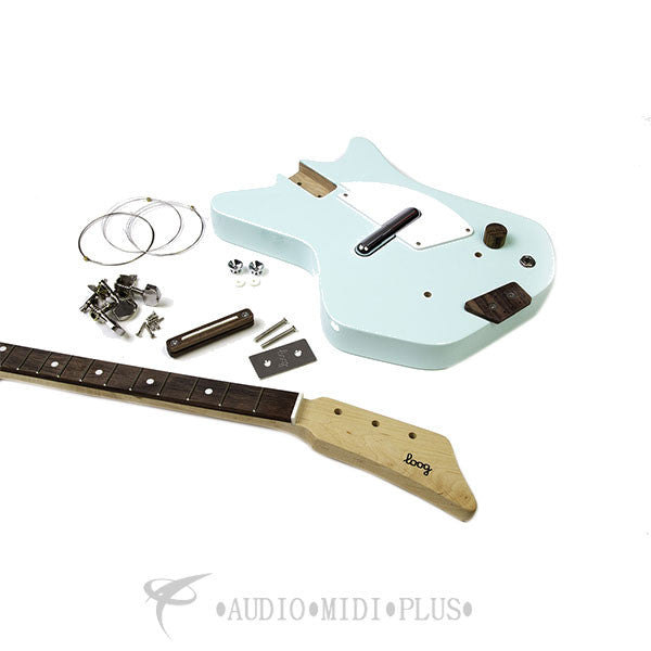 Loog II 3-Stringed Electric Guitar Kit - Green