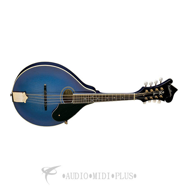Washburn Bluegrass Series A-Style Mandolin Transparent blue - M1SDLTBL-U