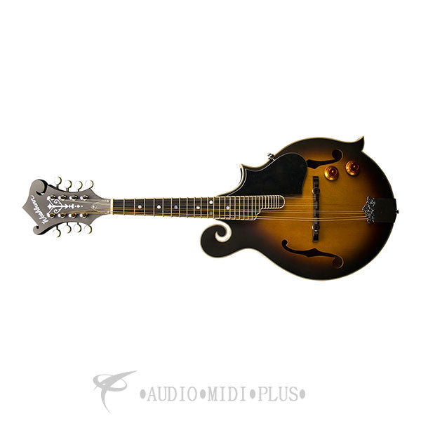 Washburn Package Mandolin Pack F style With Gig Bag/Pick U'ps Tobacco Sunburst - M3EK-U