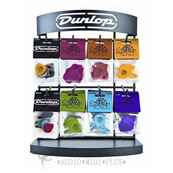 Dunlop Tortex 8 Hook Display Variety - MD128TV-U