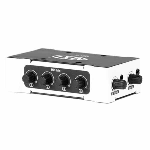 MXL Mini Mixer+ Portable Analog / Digital Audio Mixer - MM-4000 - 801813177213
