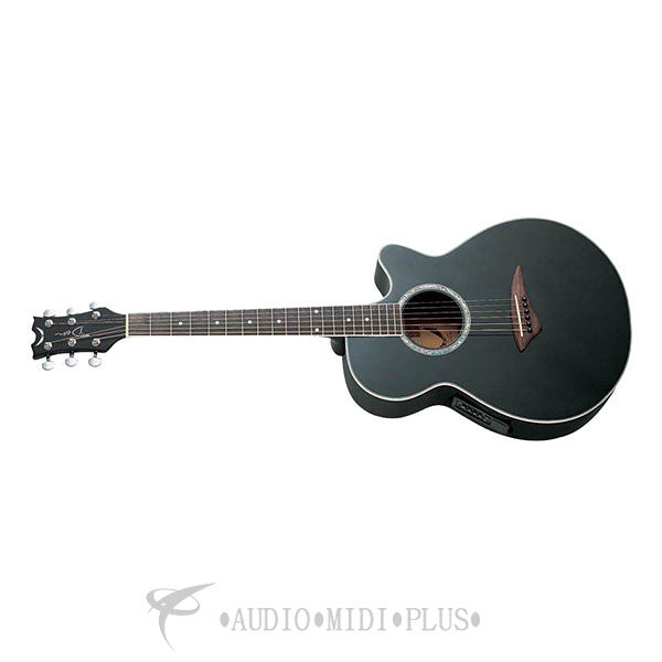 Dean Performer E Acoustic Electric Guitar Classic Black - PECBK-U