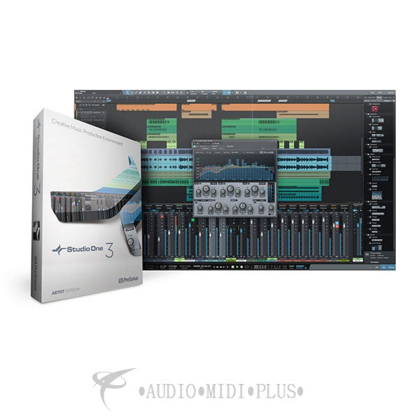 Presonus StudioOne Professional 3 Educational Edition with Codes and USB Drive - 148967 - 888680097059