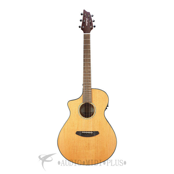 Breedlove Pursuit Concert Left Handed Red Cedar Mahogany Acoustic Electric Guitar - PSCN01LCERCMA - 875934006844
