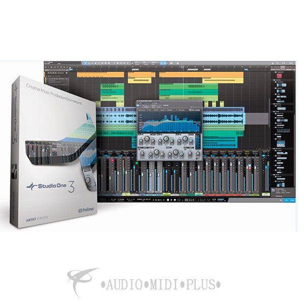 PreSonus StudioOne Artist 3 Retail Edition with Codes - 148962 - 673454003738