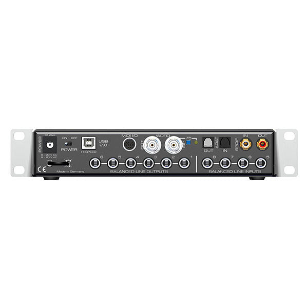 RME Fireface UC Hi-Performance USB 2.0 Audio Interface 24 Bit / 192 KHz 36-Channel - RME Fireface UC Hi-Performance USB 2.0 Audio Interface 24 Bit / 192 KHz 36-Channel - FFUC - 874792004337