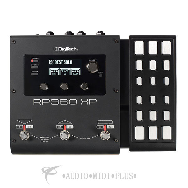 Digitech Guitar Multi-Effect Floor Processor With USB Streaming And Expression Pedal - RP360XP-U - 691991202797
