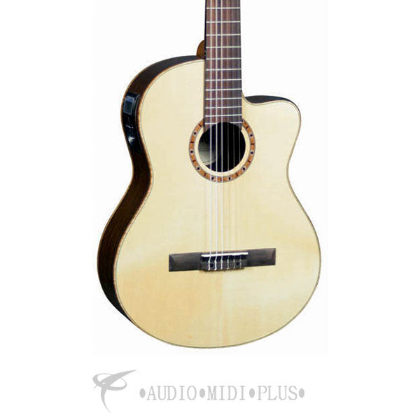 Sierra Palisades Classical cutaway Acoustic Electric Guitar Natural Gloss - SC140CE-U