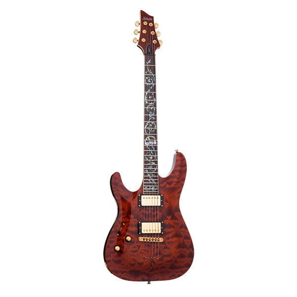 Schecter C-1 Classic Left Hand Rosewood Fretboard Electric Guitar - 241 - 81544707204