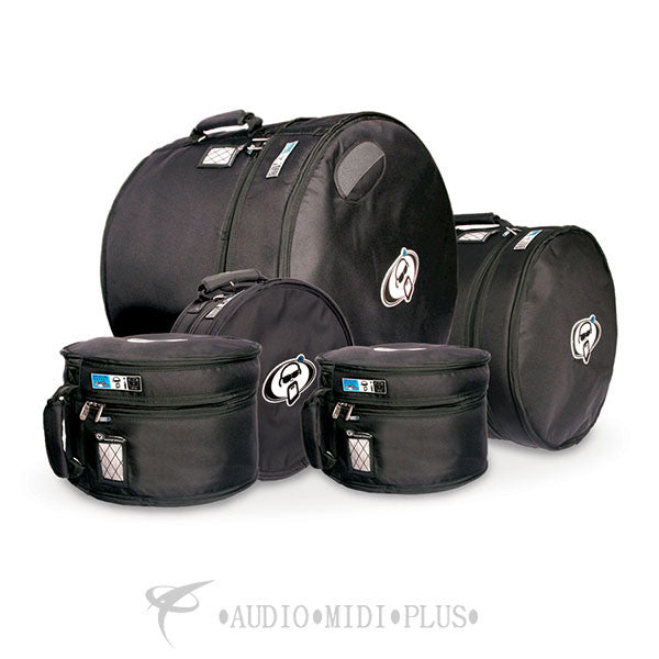 Protection Racket Bag Set 10x8 w/Rims 12x9 w/Rims 16x16 FT, 22x18, 14x6.5 - SET1-U