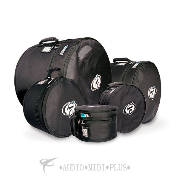 Protection Racket Bag Set -13x10 w/Rims 16x16 FT 18x16 FT  24x18 14x6.5 - SET6-U