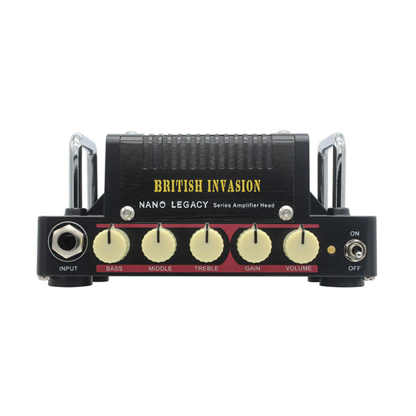 Hotone Nano Legacy British Invasion Mini Amplifier 5W Class AB Guitar Amplifier Head - TANLA1 - 888506020018