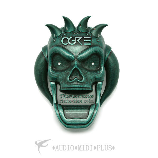 Ogre Thunderclap Distortion Green Guitar Pedal - SP0001GN-U