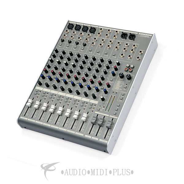 Samson MDR1248 12-Channel 4 Mic/Line Mixer with DSP - SAMDR1248 - 809164007227