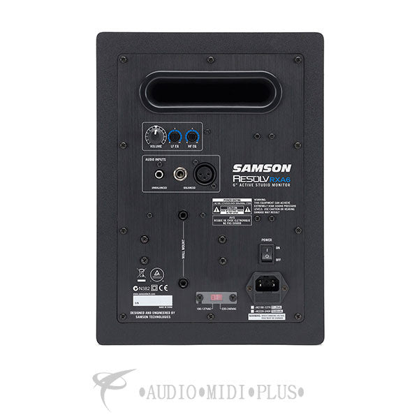 Samson Resolv RXA6- 2 Way Active Studio Reference Monitor - SARXA6 - 809164015864