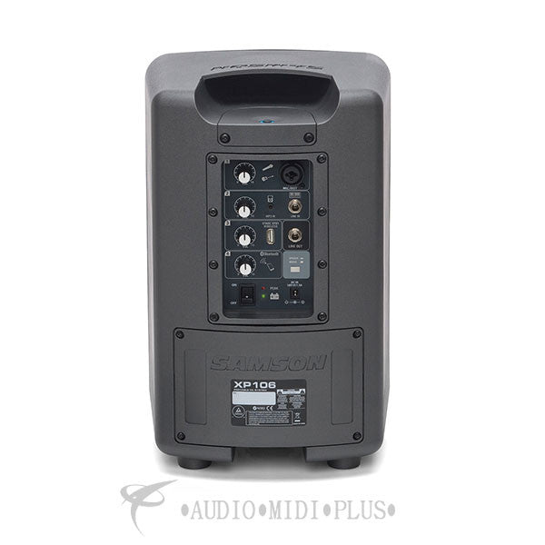 Samson Expedition XP106 Rechargeable Battery Powered PA with Bluetooth - XP106 - 809164015963