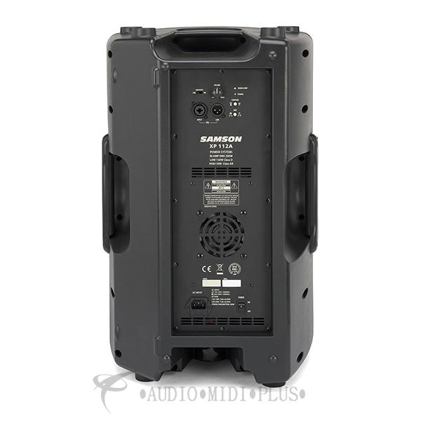 Samson Expedition XP112A - 500W 2-Way Active PA Speaker - SAXP112A - 809164016533